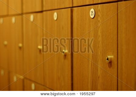 Wood Lockers