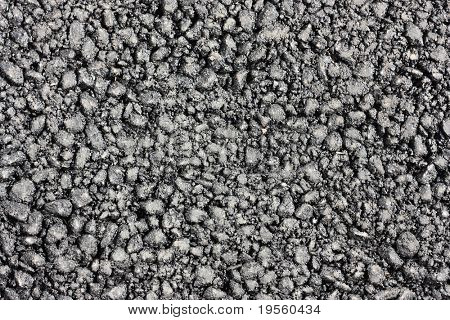 Fresh asphalt surface - vintage texture