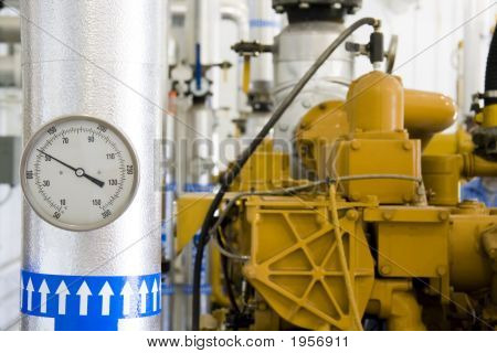 Gas-Verwertungsanlage