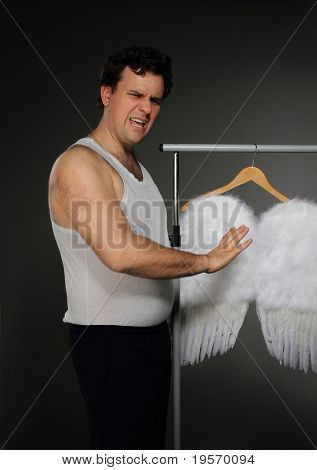 Mr. Angel With White Wings