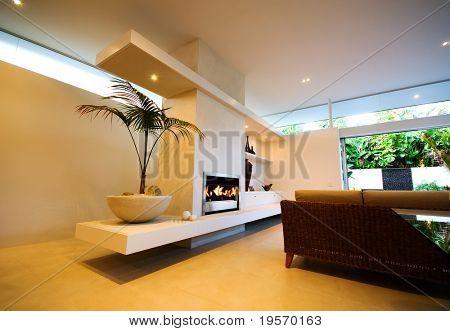 Uma casa moderna de design - interior