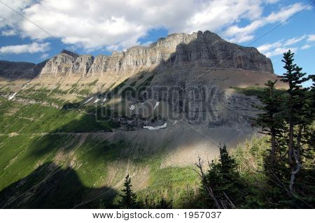 Glacier National Park Mountains, Montana