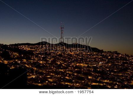 Sutro  Communications Tower