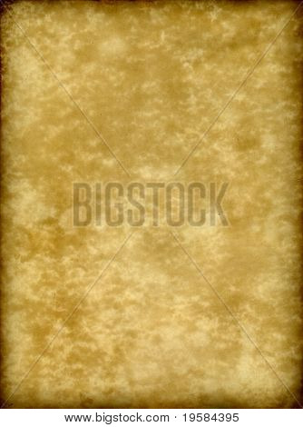 old paper grunge background with a burned frame and space for text or image