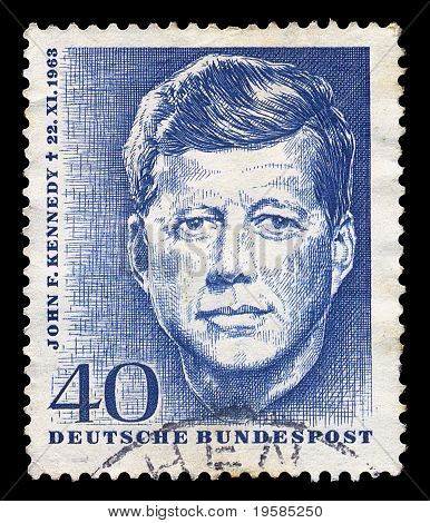 Jfk Postage Stamp