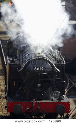 Steam Train 6619