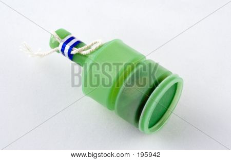 A Green Party Popper