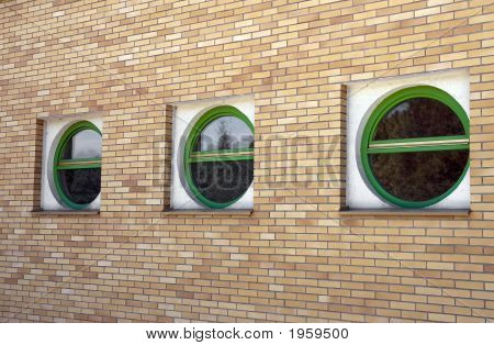 Three Round Windows