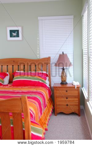 Dormitorio de la casa de vacaciones