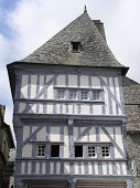 Half-timbered Building poster