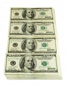 stock photo of money stack  - big pile of money - JPG