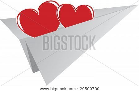 Valentine's Day Element Of Greeting Card