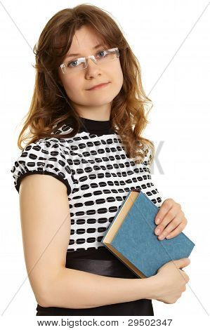 Young Woman - Teacher With A Book