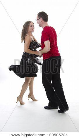 Bailarín de salsa