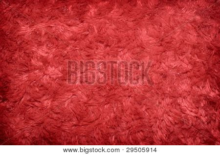 Red Polyester Background