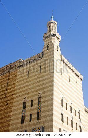 Old Moorish Building Under Blue
