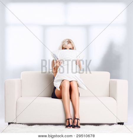 Girl With Remote Control
