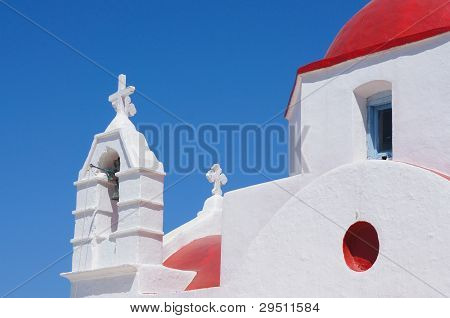 Greek island church