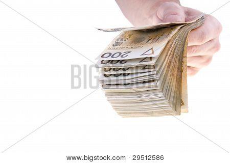 Polish Money Two Hundred Zlotys