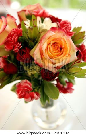 Bouquet In A Vase