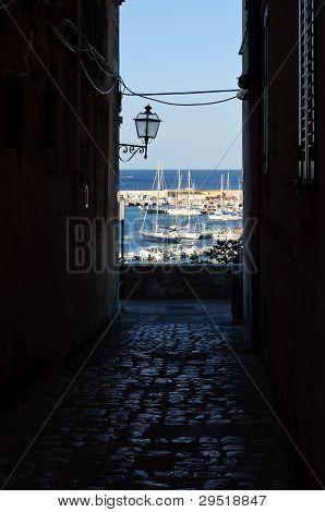A Street In Otranto