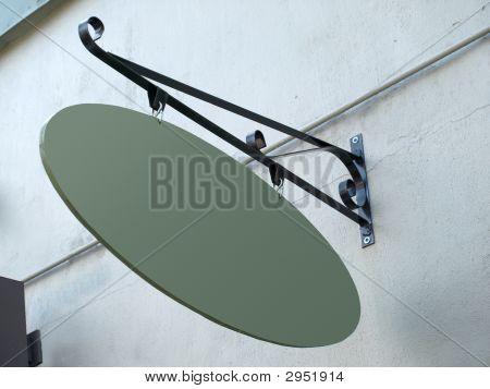 Oval Signage