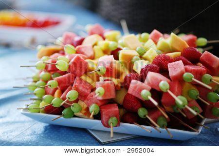 Fruit Kebabs