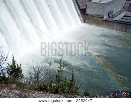 Water And Rainbow