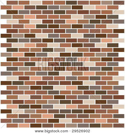 Illustrated Brick Pattern