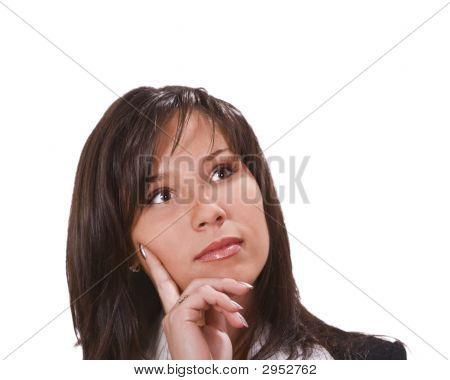 Brunette Thinking
