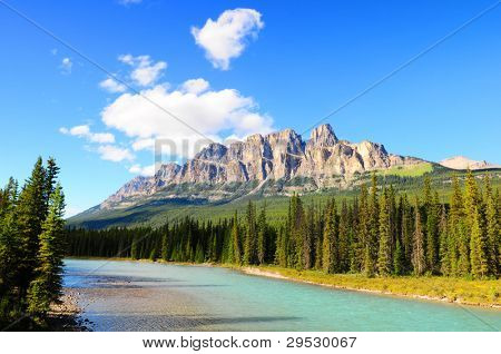 Castle Mountain, Banff National Park, Canada