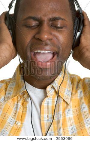 Black Kareoke Singer