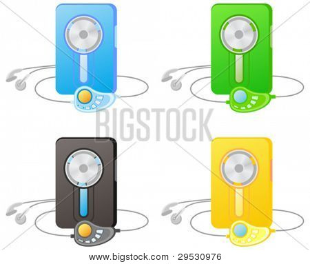 audio cassette player