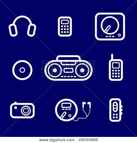 icons Audio devices