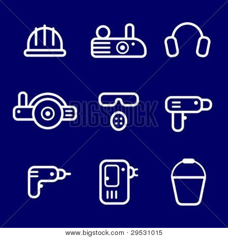 icons instrument, toolware
