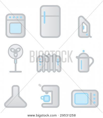 "icons ""household appliances"" 1"