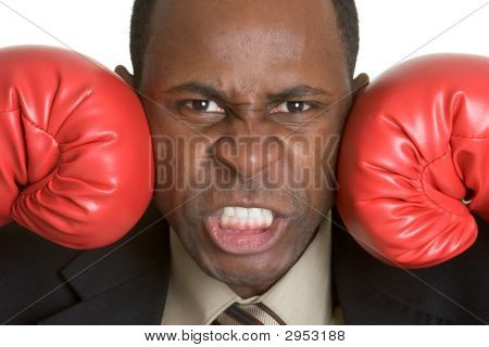 Angry Business Person