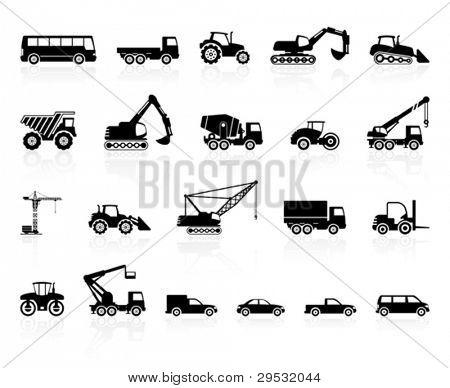 Satz von Transport-silhouette