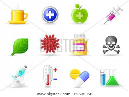 Set a small icons - Medicine