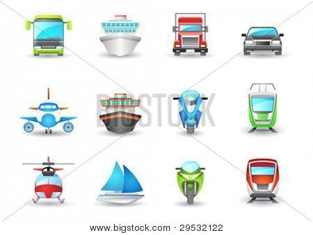 Transport-Symbole