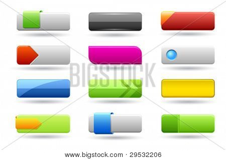 Rectangle web buttons