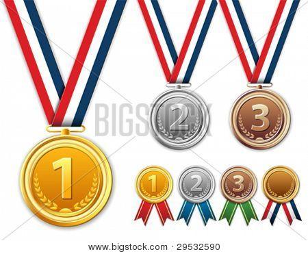 Medals, award.