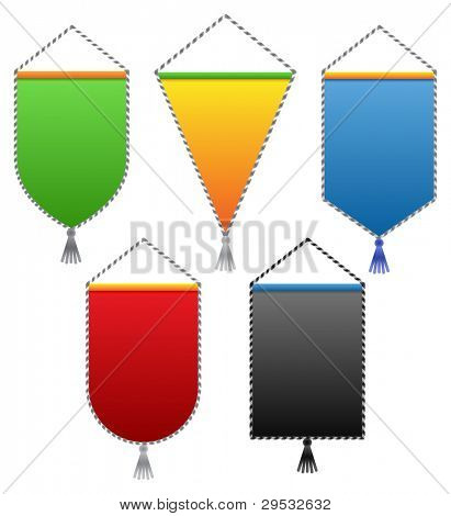 Colored pennant.