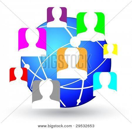 Gemeenschap pictogram.