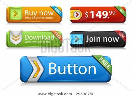 Premium web botões v1