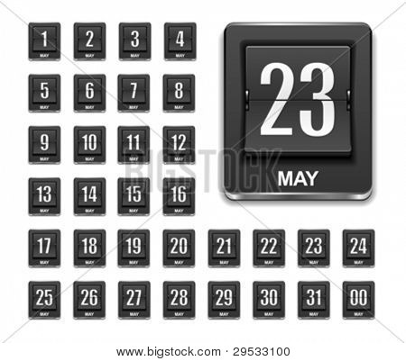 Calendar countdown icon.