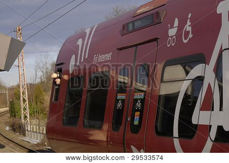 Denmark_electric Train
