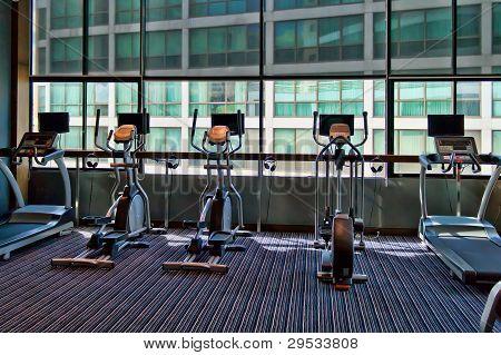 Gym A Stationary Bike