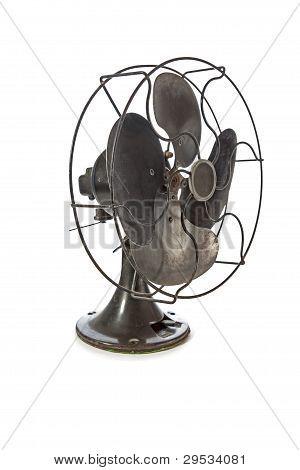 Old Vintage Metal Fan