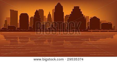 Horizonte de Austin, Texas